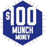 $100 Munch Money